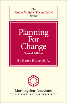 Planning For Change Booklet, From Vision to Action Booklet series